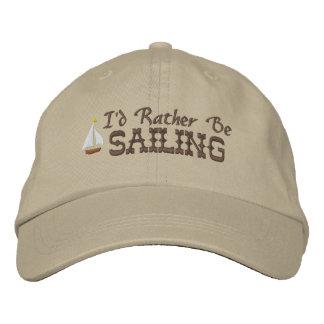Boné Eu preferencialmente estaria navegando o chapéu