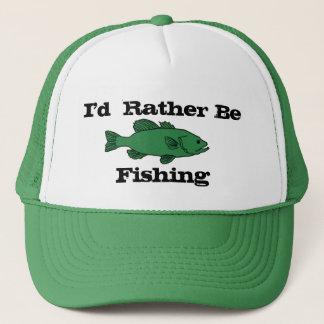 Boné Eu preferencialmente estaria pescando o chapéu