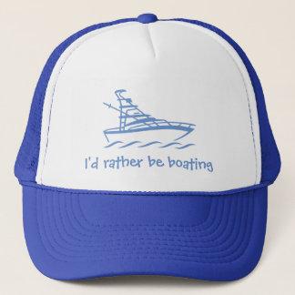 Boné Eu preferencialmente seria barco. Um chapéu para o