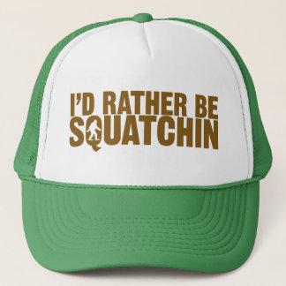 Boné Eu preferencialmente seria chapéu de Squatchin