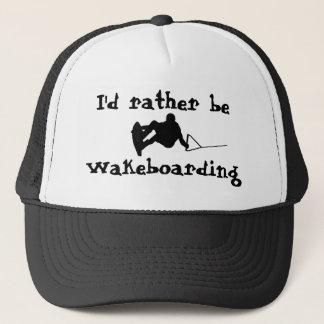 Boné Eu preferencialmente seria chapéu de Wakeboarding