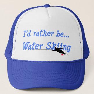 Boné Eu preferencialmente seria chapéu do esqui