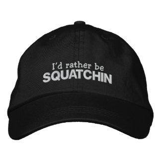 Boné Eu preferencialmente seria Squatchin