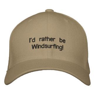 Boné Eu preferencialmente Windsurfing!