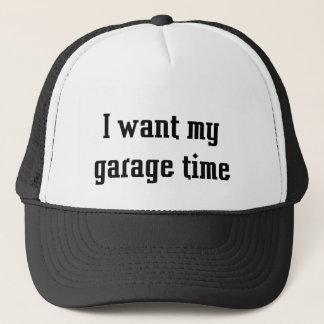 Boné Eu quero meu tempo da garagem