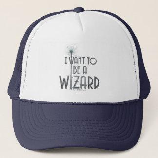 Boné Eu quero ser um feiticeiro