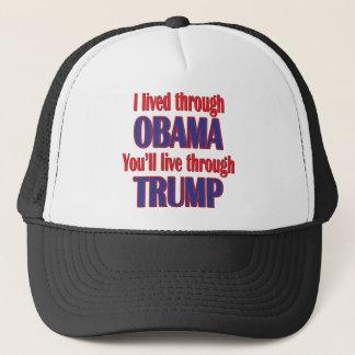 Boné Eu sobrevivi a Obama