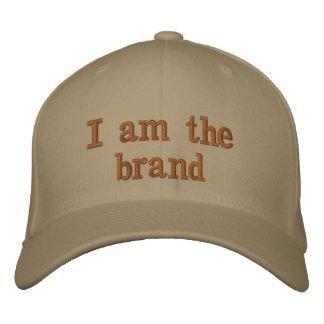 """Boné """"Eu sou chapéu da marca"""""""