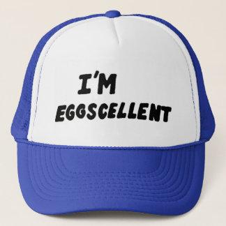 Boné Eu sou chapéu do camionista de Eggscellent