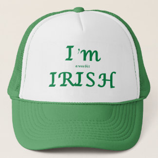 Boné Eu sou chapéu do dia de um St Patrick pequenino do