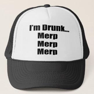 """Boné """"Eu sou… Merp bêbedo, Merp, Merp """""""