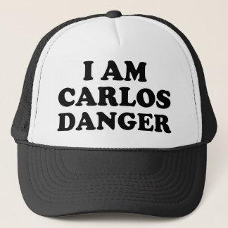 Boné Eu sou perigo de Carlos