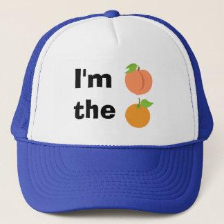 Boné Eu sou pêssego a laranja