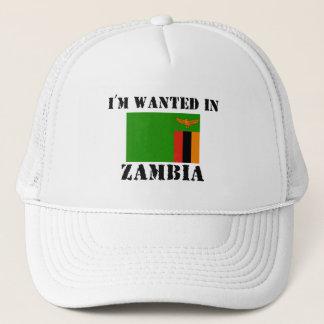 Boné Eu sou querido na Zâmbia