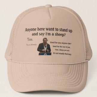 Boné Eu sou um chapéu de Hitchens dos carneiros