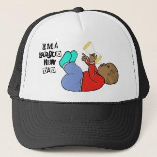 Boné Eu sou um chapéu orgulhoso do novo papai
