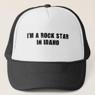Boné Eu sou uma estrela do rock em Idaho