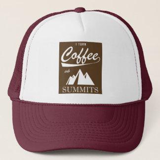 Boné Eu transformo o café em cimeiras