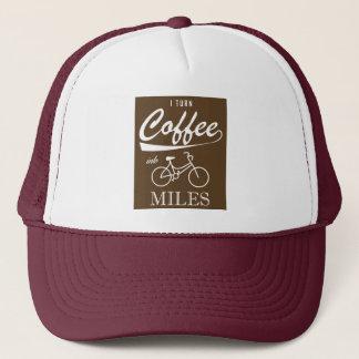 Boné Eu transformo o café em milhas