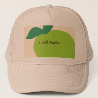 """Boné """"Eu vendo chapéu do camionista das maçãs"""""""