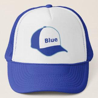 Boné Eu visto um chapéu azul