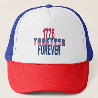 Boné EUA América Dia da Independência o 4 de julho