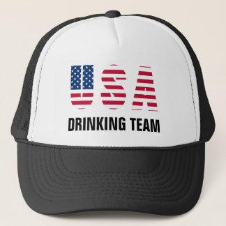Boné EUA que bebem a equipe
