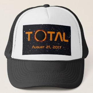Boné Evento total do eclipse solar