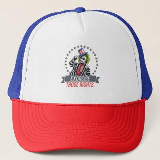 Boné Exorcise o chapéu do camionista daqueles direitos