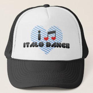 Boné Fã da dança de Italo