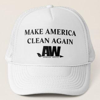 Boné Faça a América outra vez o chapéu limpo