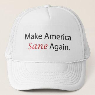Boné Faça a América outra vez o chapéu são do