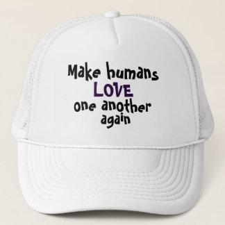 Boné Faça a seres humanos o AMOR um outro outra vez
