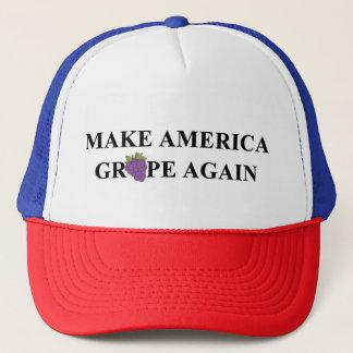 Boné Faça a uva de América outra vez