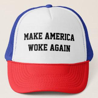 Boné Faça América acordou outra vez