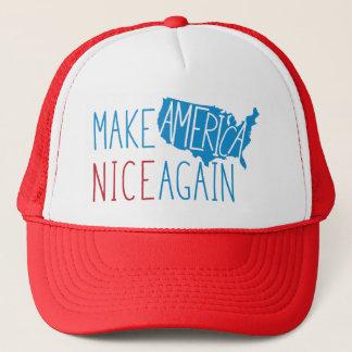 Boné Faça América agradável outra vez