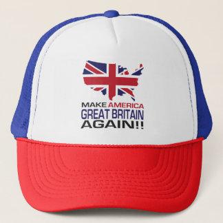 Boné Faça América Grâ Bretanha outra vez!