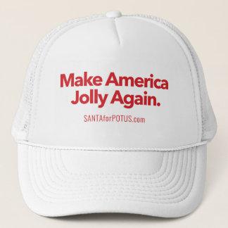"""Boné """"Faça chapéu do camionista de América"""