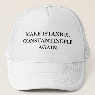 Boné Faça Istambul Constantinople outra vez
