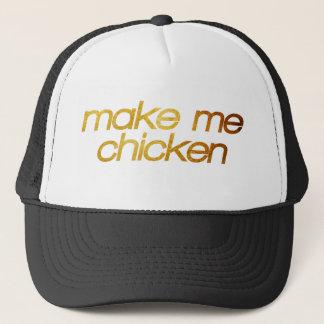 Boné Faça-me a galinha! Eu estou com fome! Foodie na