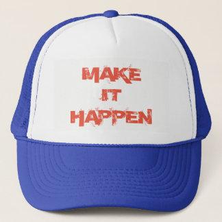 Boné Faça-o acontecer chapéu de basebol do camionista