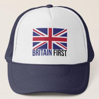 Boné Faça o #Brexit da bandeira do Reino Unido primeiro