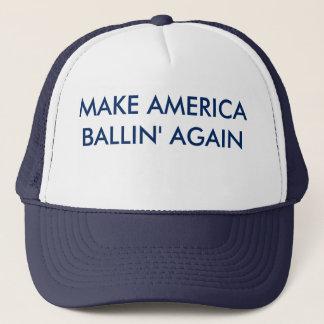 Boné Faça o chapéu de América Ballin outra vez