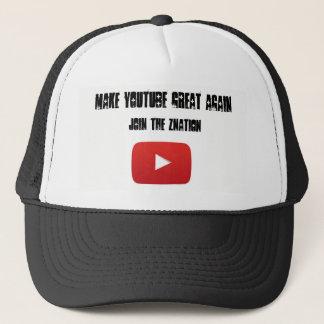 Boné Faça o chapéu do camionista do excelente de