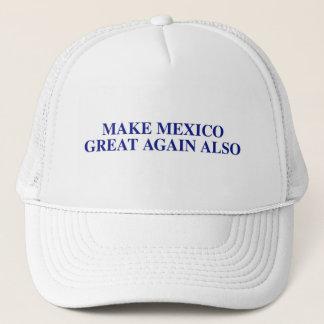 Boné Faça o chapéu do camionista do excelente de México