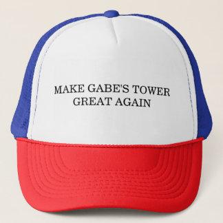 Boné Faça o chapéu do excelente da torre de Gabe outra