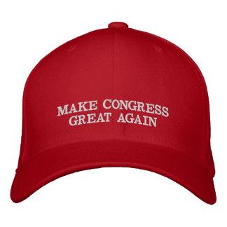 Boné Faça o chapéu do excelente do congresso outra vez