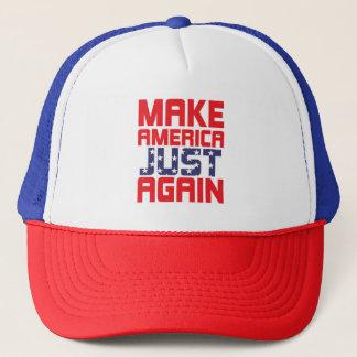 Boné Faça o chapéu do protesto de América apenas outra