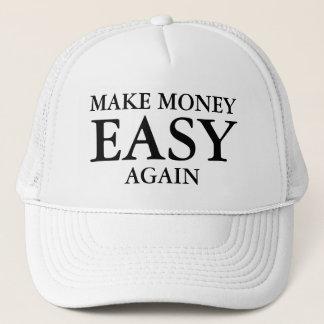 Boné Faça o dinheiro fácil outra vez