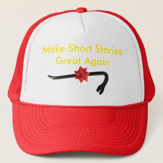 Boné Faça o excelente das narrações breves outra vez